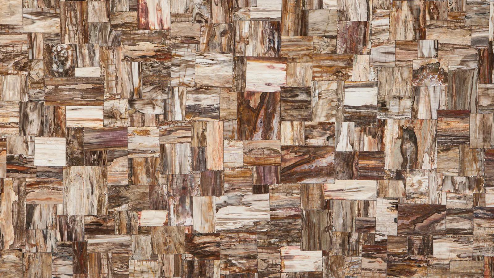 Retro Petrified Wood Plancha